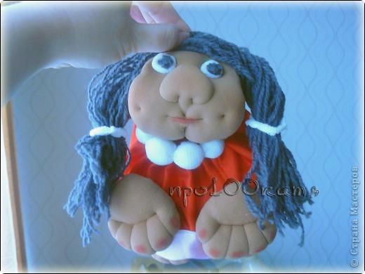 Уж не знаю почему,но куклу решила назвать в честь своей сестры. фото 2