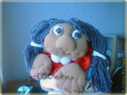 Уж не знаю почему,но куклу решила назвать в честь своей сестры. фото 1