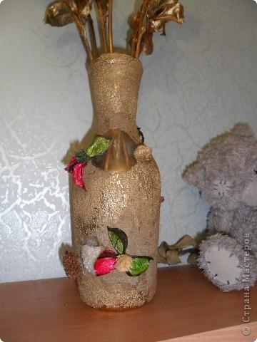 ваза из бутылки фото 2