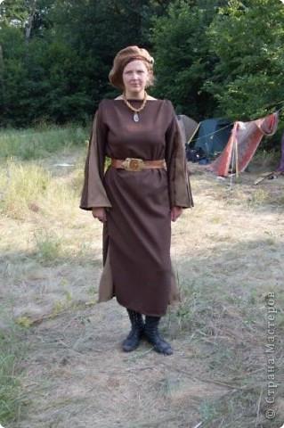 """Я назвала эту тяжелую плетенку """"рыцарской цепью"""". Получилась она так - мне на день рождения подарили камень, который очень хотелось применить. Вот он и применился... фото 3"""