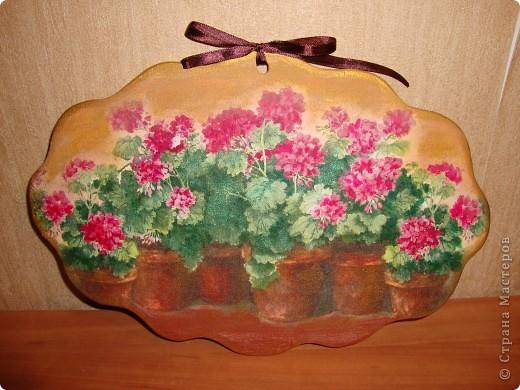 Понравилась салфетка-люблю с изображением цветов в горшках. фото 2