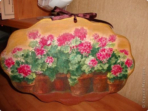Понравилась салфетка-люблю с изображением цветов в горшках. фото 1