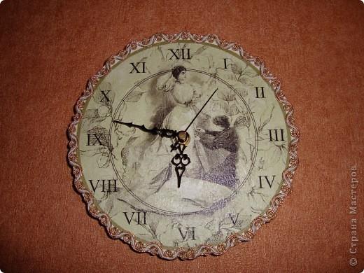 """Часы """" У портнихи"""". фото 1"""