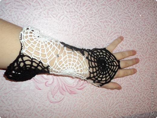 Перчатки-паутинки фото 1