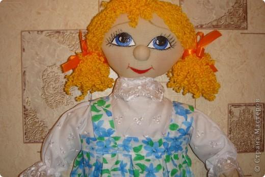 """Замечательная куколка украсит любую кухню и выполнит функцию """"хранительницы пакетов"""""""