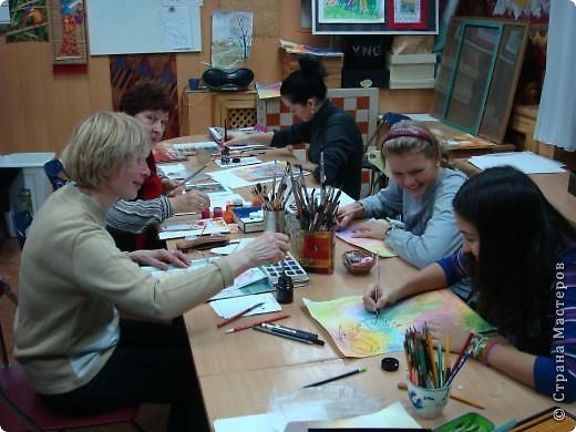 Урок живописи фото 5