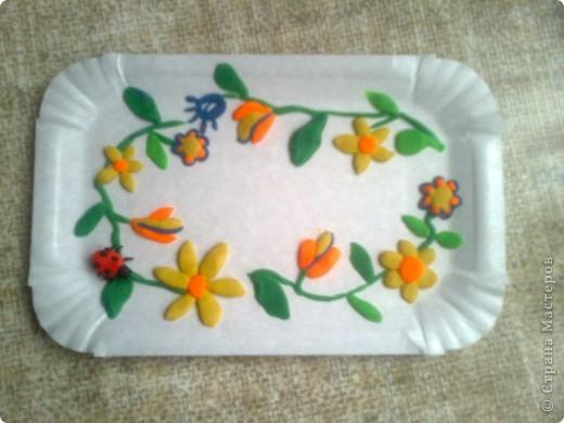 летняя тарелочка фото 1