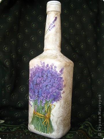 """Вот такая """"итальянская"""" бутылочка у меня получилась  фото 6"""