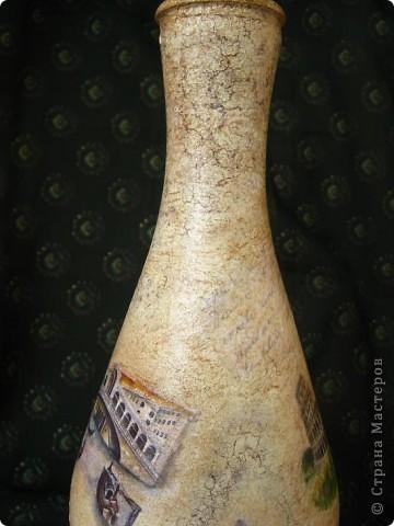 """Вот такая """"итальянская"""" бутылочка у меня получилась  фото 3"""