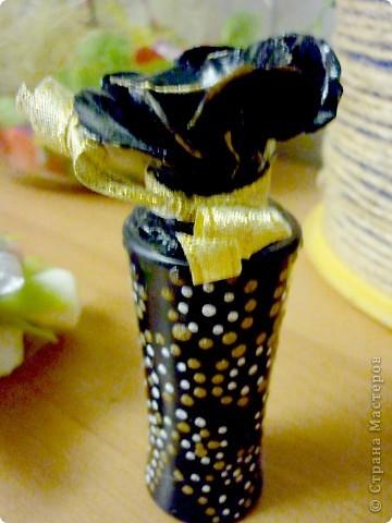 Букет Каприз(переделка)Добавила розочек и переделала вазочку. фото 2