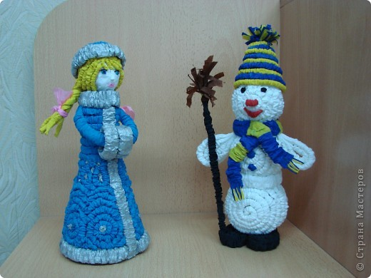 Снегурочка и Снеговик