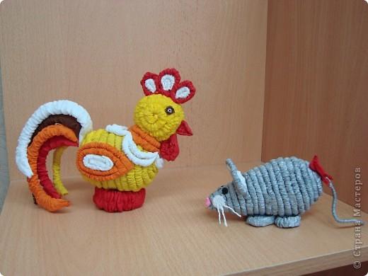 Петушок и мышка