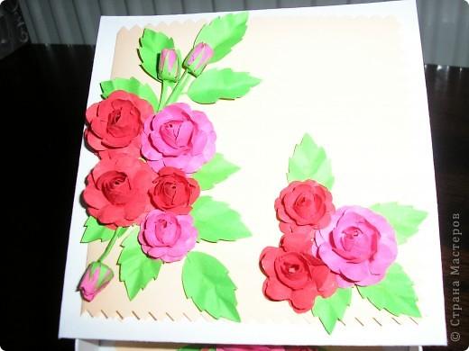 В эти розы я просто влюбилась когда увидела впервые пришлось сповторюшничать. Огромное  спасибо всем мастарицам!!!!! фото 2