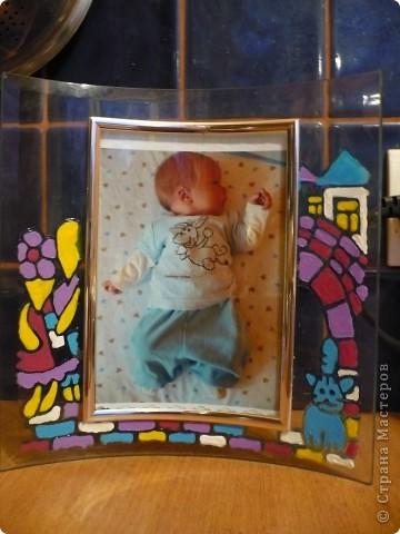 Рамка для фото малыша