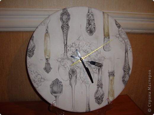 """Часы """"Столовое серебро"""". фото 1"""