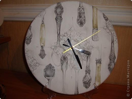 """Часы """"Столовое серебро"""". фото 2"""