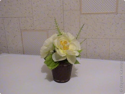Композиции из кал, васильков, гербер, маков, роз..... фото 6