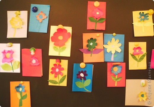 Такие цветы для мамы вырастили мои первоклашки. фото 1