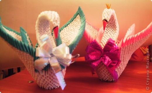 Я с удовольствием сделала этих лебедей! Моя мечта сбылась!!! фото 1