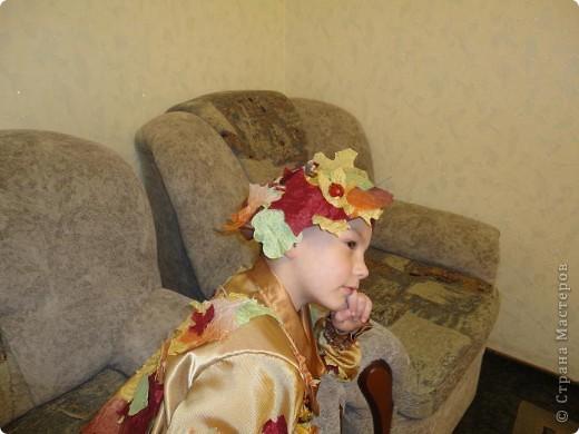 Вот такой костюм  для сына я сшила на осенний праздник. фото 3