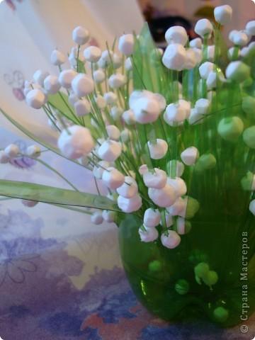 Поделка цветы ландыши