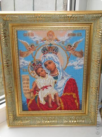 Подарена моей любимой бабушке, богородица Милующая фото 1