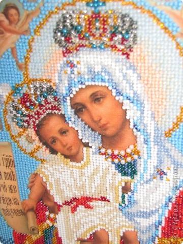 Подарена моей любимой бабушке, богородица Милующая фото 2