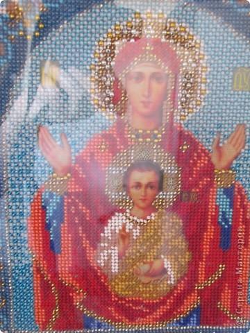 Богородица Знамение, подарена моей Любимой Мамочке фото 2