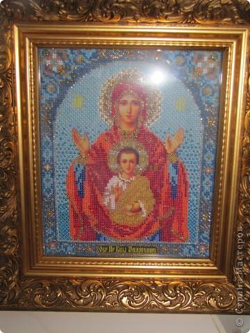 Богородица Знамение, подарена моей Любимой Мамочке фото 3
