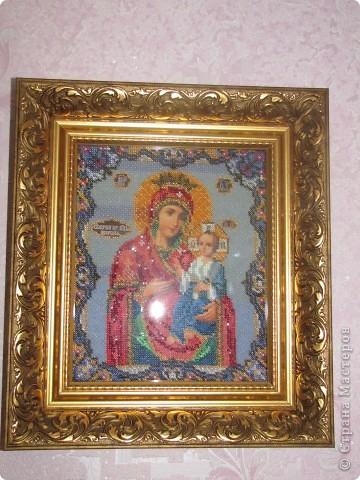 Богородица Иверская для бабушки моего Любимого мужчины=) фото 1