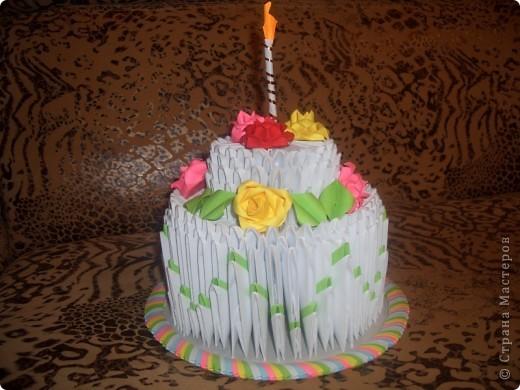 Угощайтесь!!! Праздничный тортик готов!!! фото 1