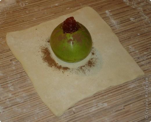 """Приветствую всех! И вновь """"яблочная"""" тема... Приготовим печёные яблочки в слоёном тесте. фото 4"""