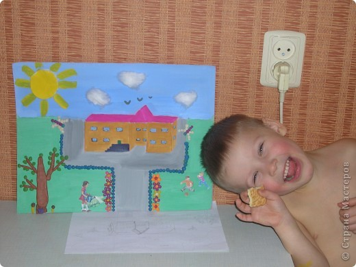 Поделки мой детский сад рисунок