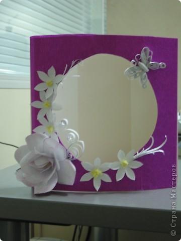 открытка-рамка для фото