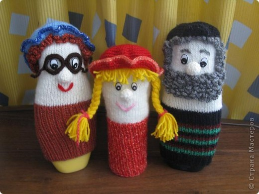 Куклы для игры в театр:надеваем на руку и кукла оживает! фото 1