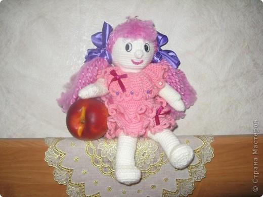 Вот такая куколка у меня получилась...