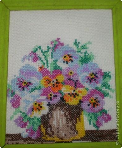 Вышивка Лены Черкашиной (6 класс) фото 2
