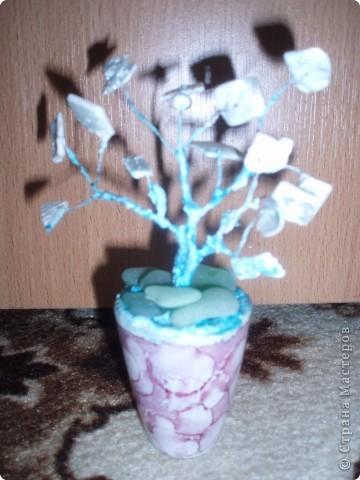вот такое деревце я сделала в подарок на день матери фото 2