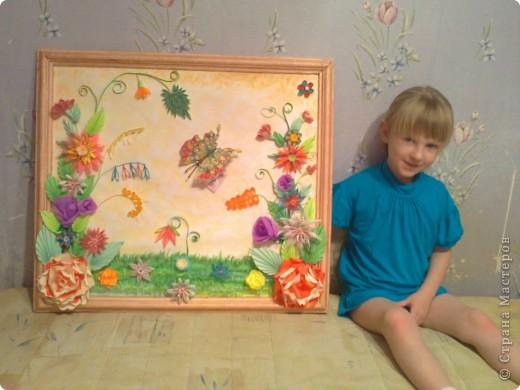 моя первая серьёзная работа.делала в подарок.размер картины получился 63,5*71 см. фото 5