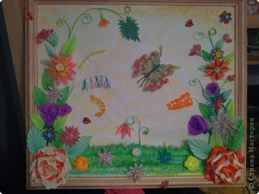 моя первая серьёзная работа.делала в подарок.размер картины получился 63,5*71 см. фото 1