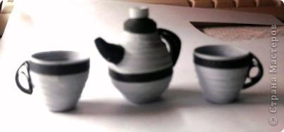 чайник и чашечки фото 1