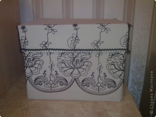 Коробка из под бумаги для компьютера фото 1