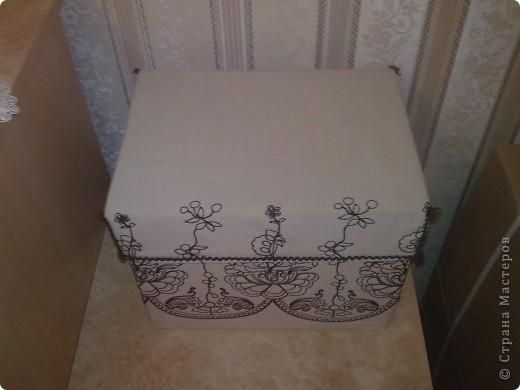 Коробка из под бумаги для компьютера фото 2