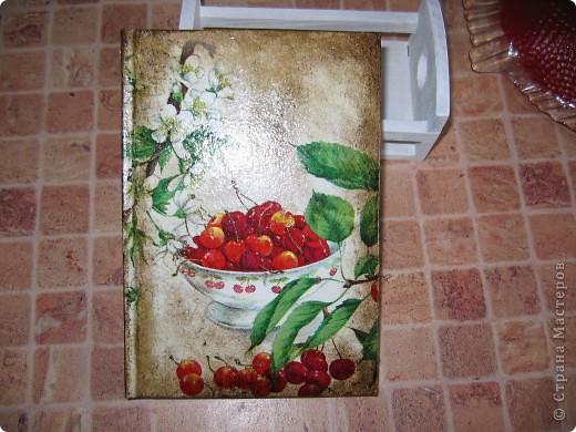 блокнот для записи кулинарных рецептов фото 1