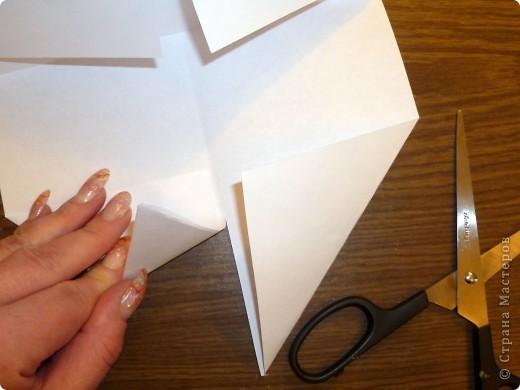 Для работы требуются: лист бумаги, ножницы и фломастеры. фото 6