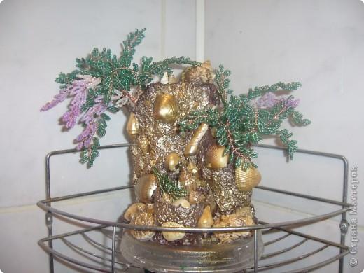 деревце в золоте