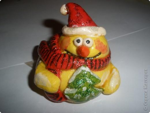 Мой снеговик (почти получился:)) фото 2