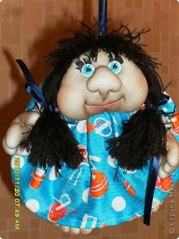 """Вот такая """"куколка-удача"""" появилась в нашей семье. Делала в подарок, но муж сказал - """"будет жить у нас!"""" фото 1"""