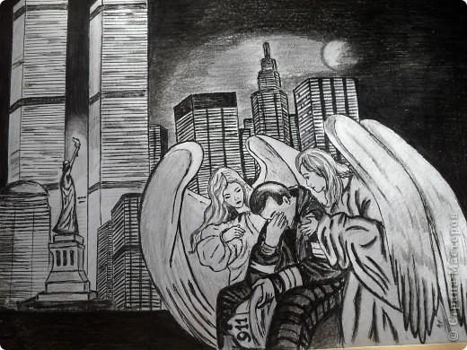 В память об ужасной трагедии 11 сентября.