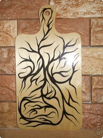 Роспись для души по дереву. фото 1
